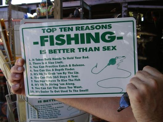 reasons fishing better than