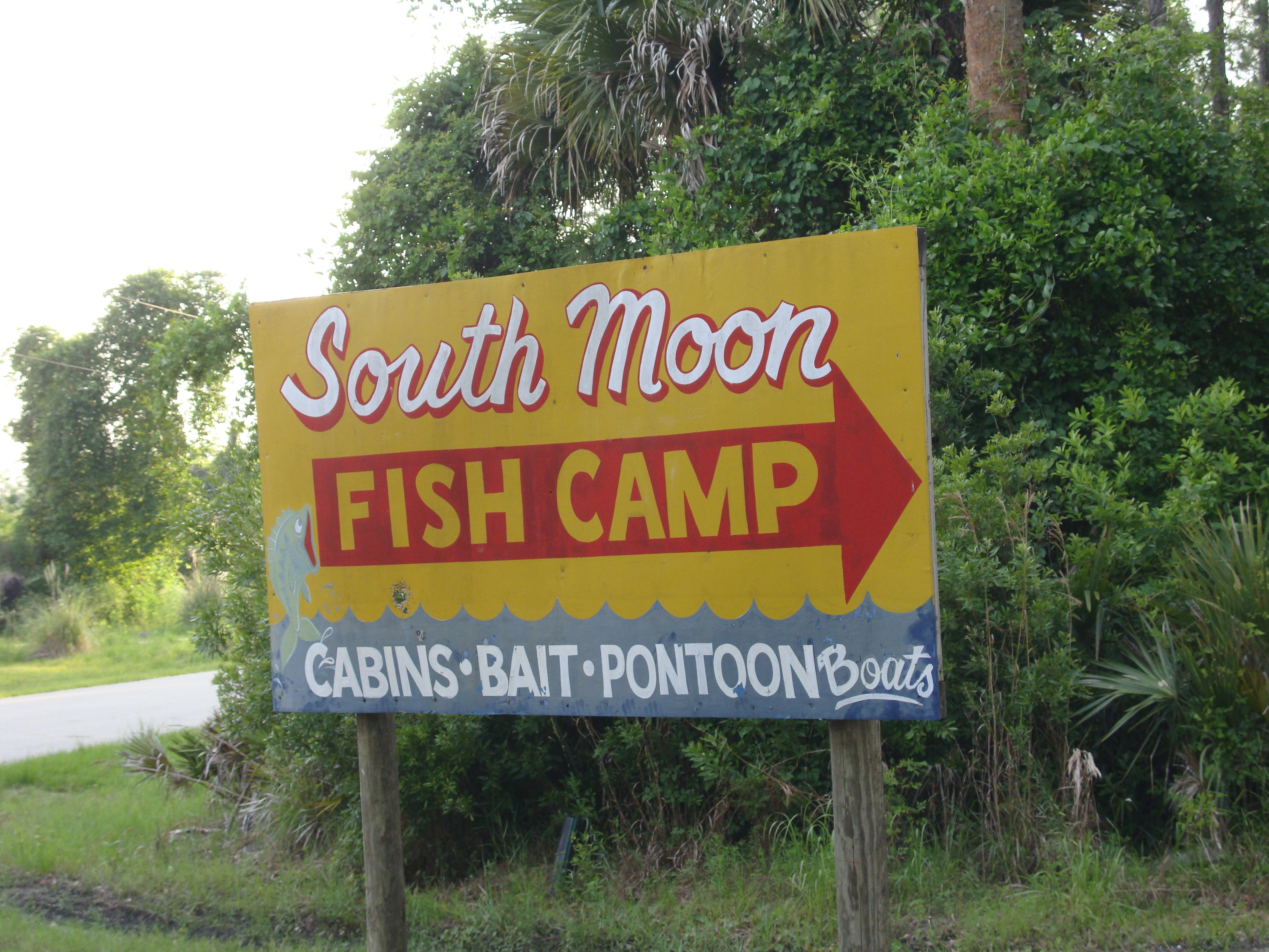South moon fish camp astor florida for Fish camp menu