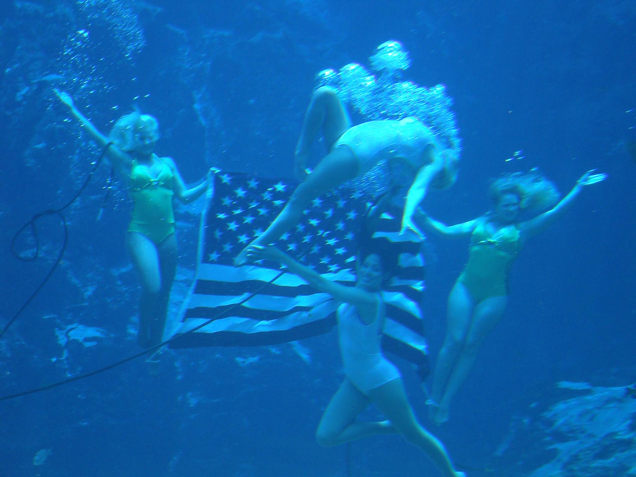 Coast Guard Video Of Mermaid Weekiwachee